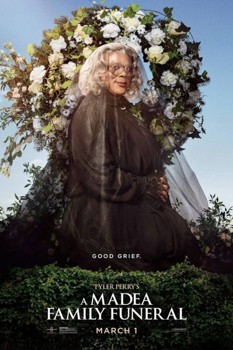 """Tyler Perry's A Madea Family Funeral"" movie poster"
