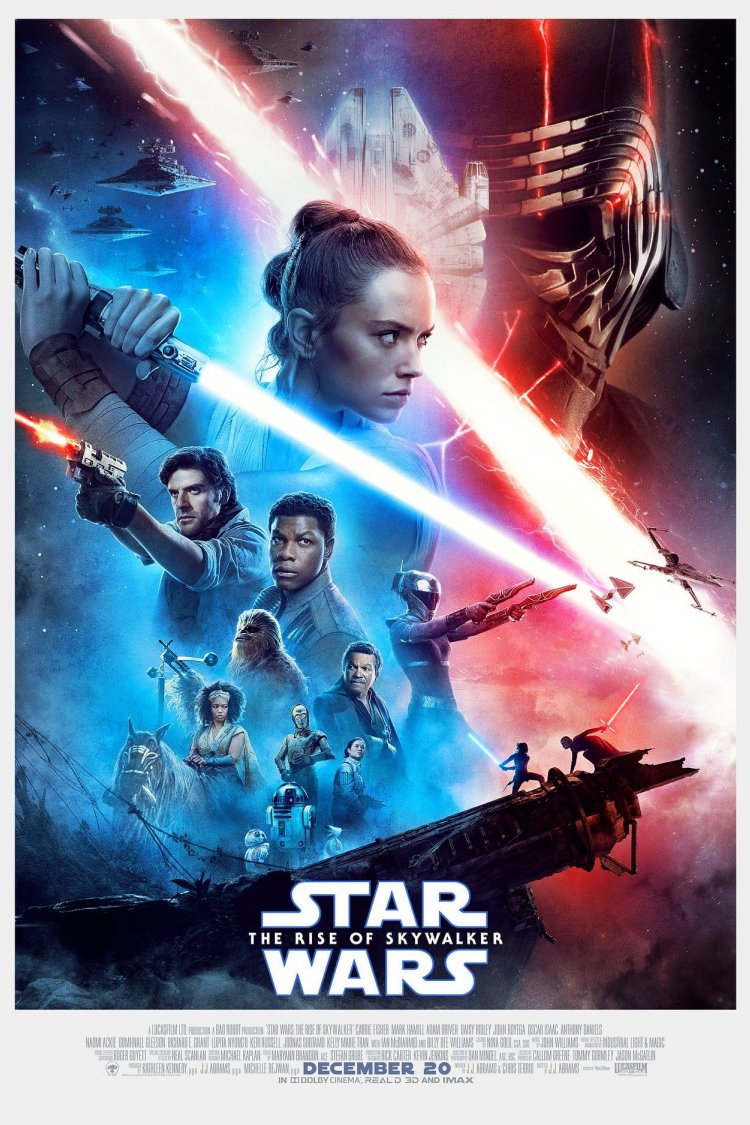 """Star Wars: The Rise of Skywalker"" movie poster"
