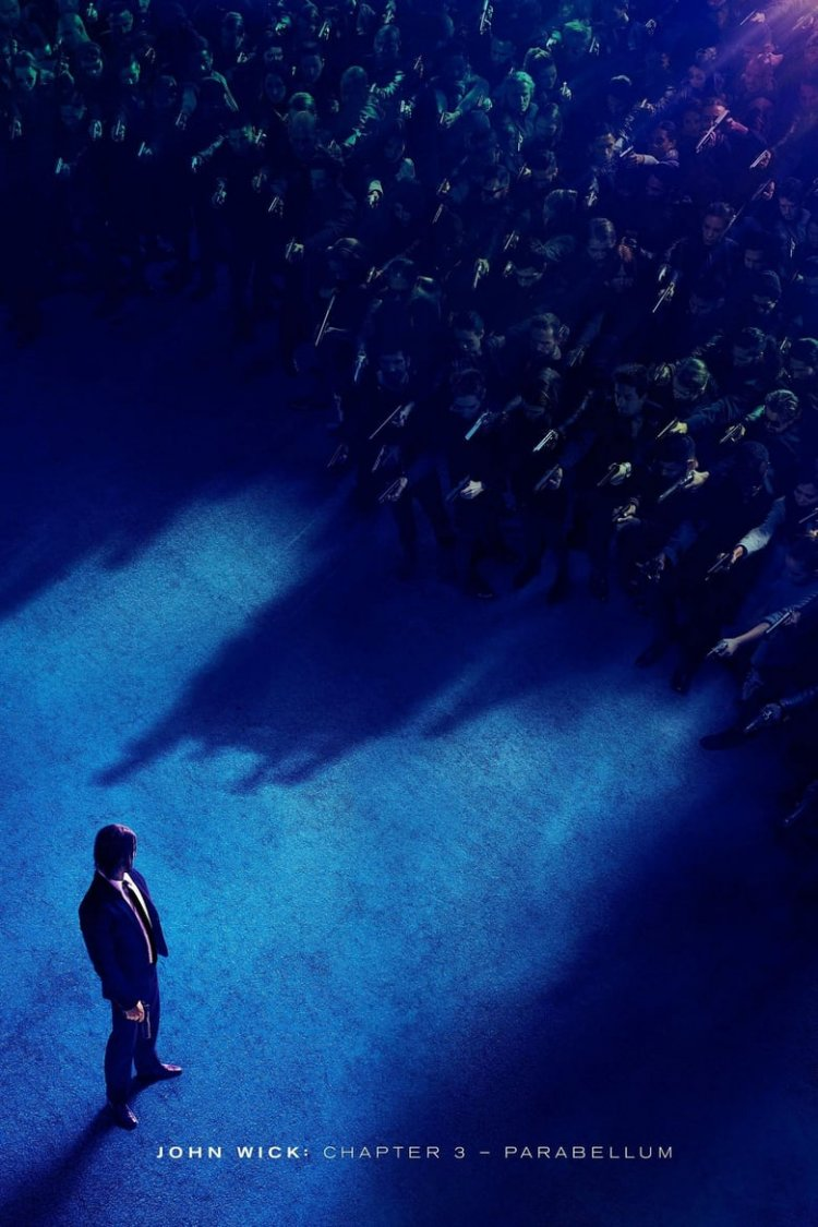 """John Wick: Chapter 3 – Parabellum"" movie poster"