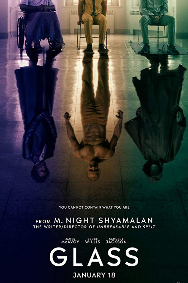 """Glass"" movie poster"
