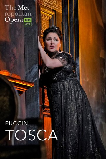 """Met: Tosca"" movie poster"