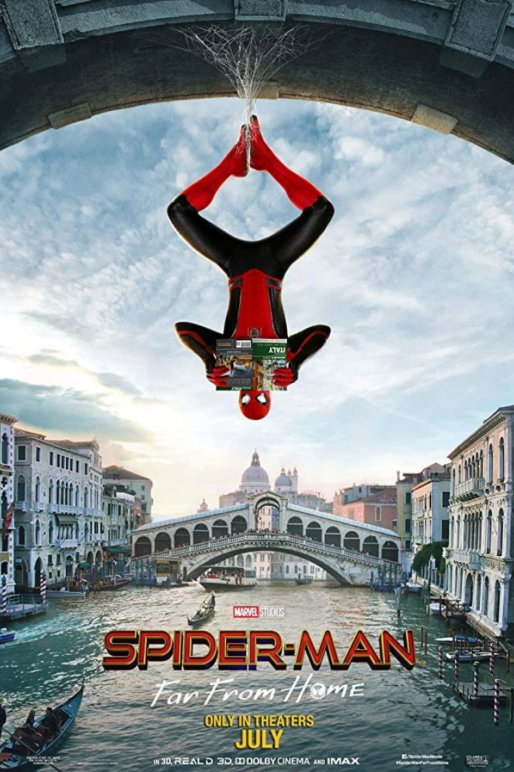 """Spider-man: Far From Home Extended Cut"" movie poster"