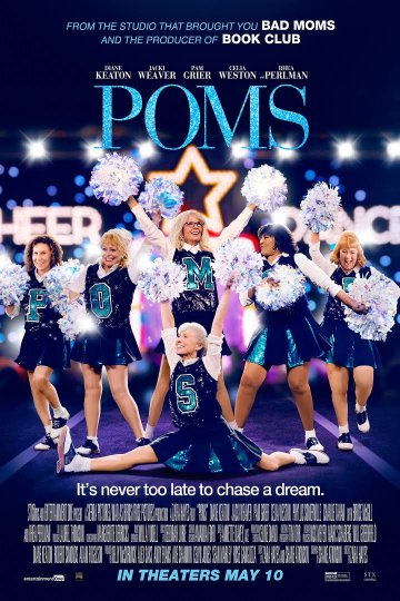 """Poms"" movie poster"