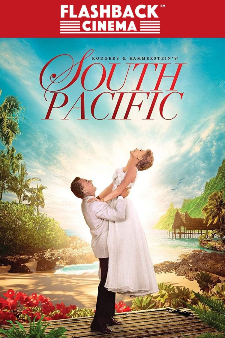 """South Pacific"" movie poster"