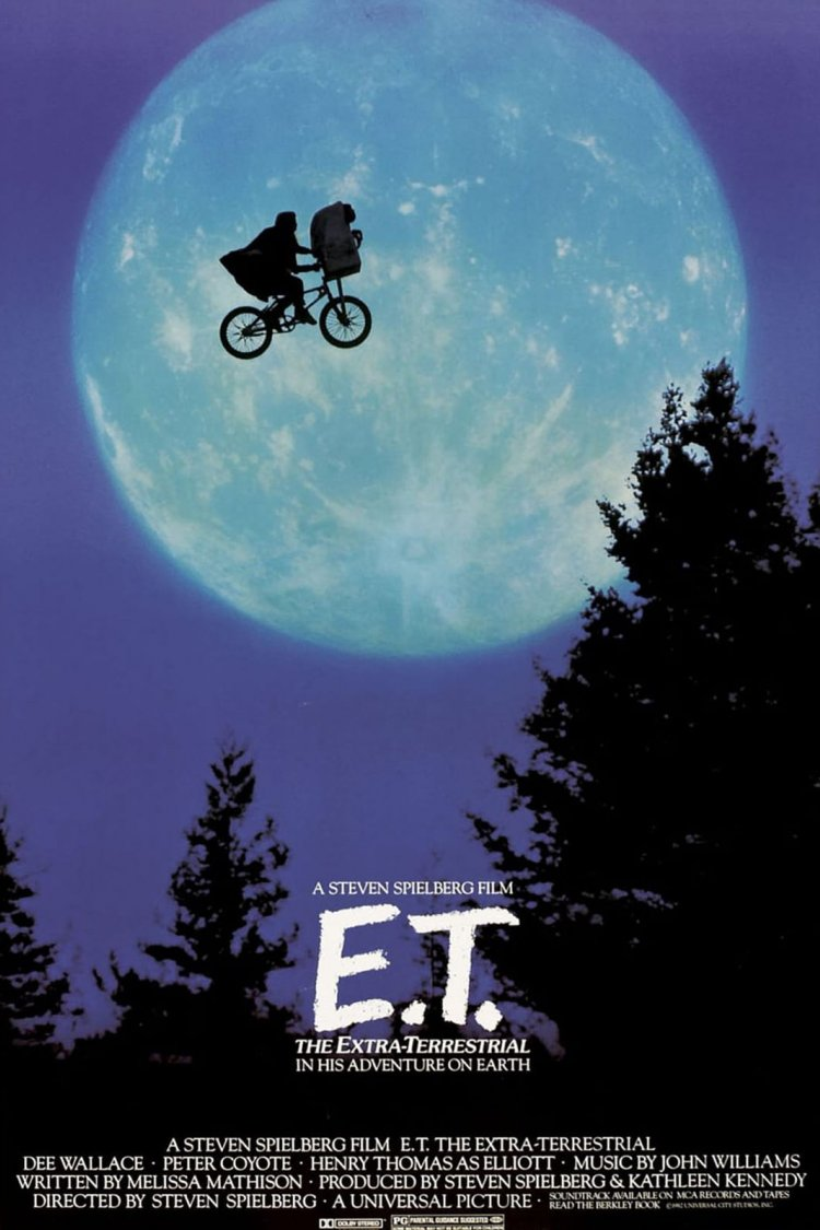 """E.T. the Extra-Terrestrial"" movie poster"