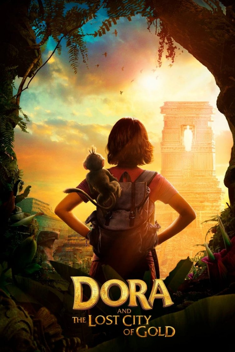 """Dora and the Lost City of Gold"" movie poster"