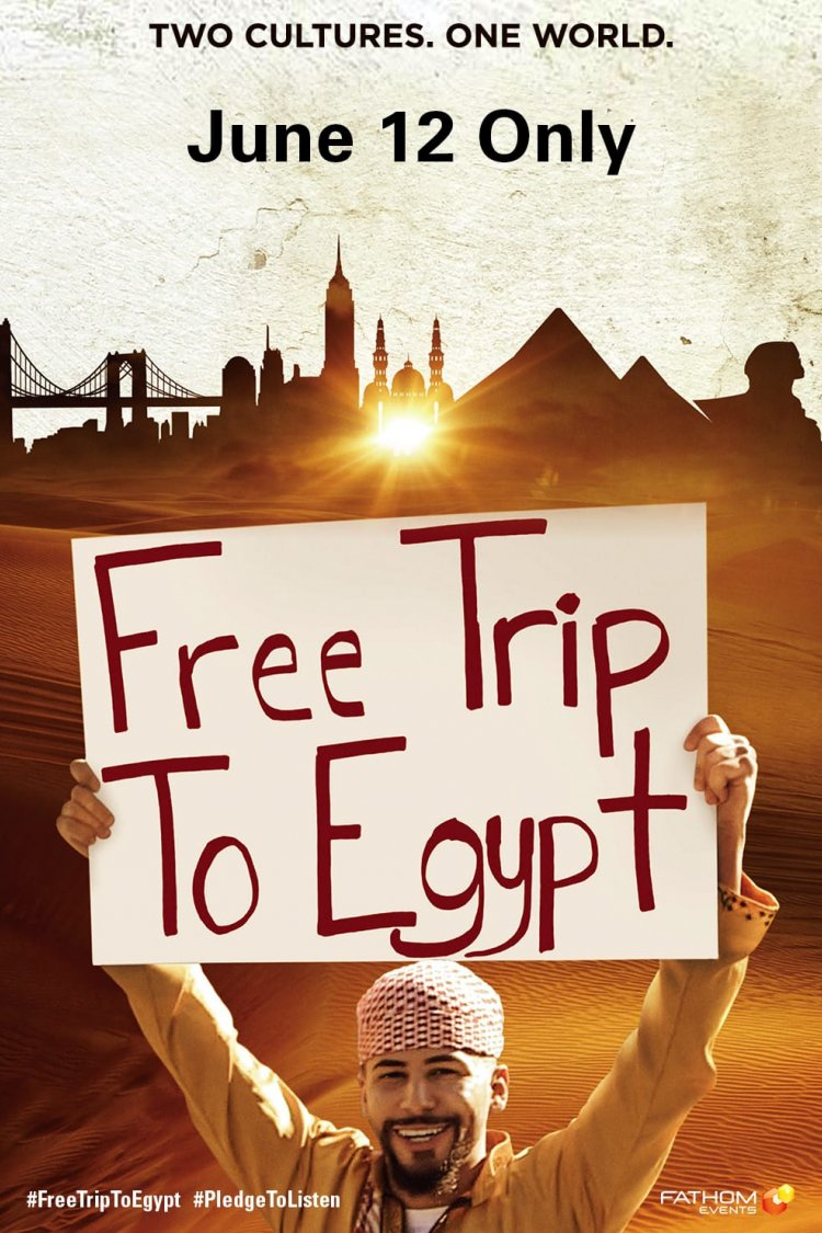 """Free Trip To Egypt"" movie poster"