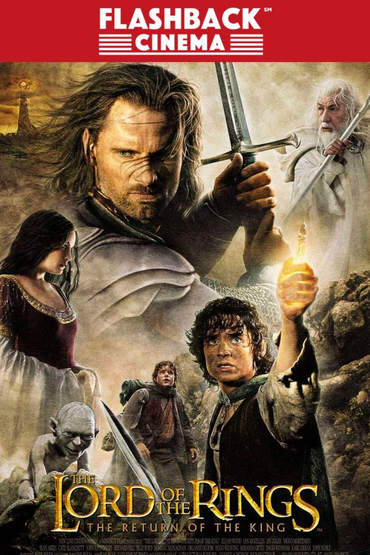 """Lord of the Rings: The Return of the King"" movie poster"