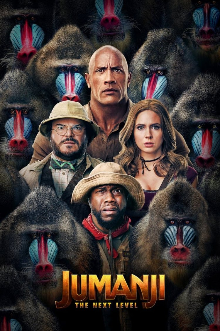 """Jumanji: The Next Level"" movie poster"