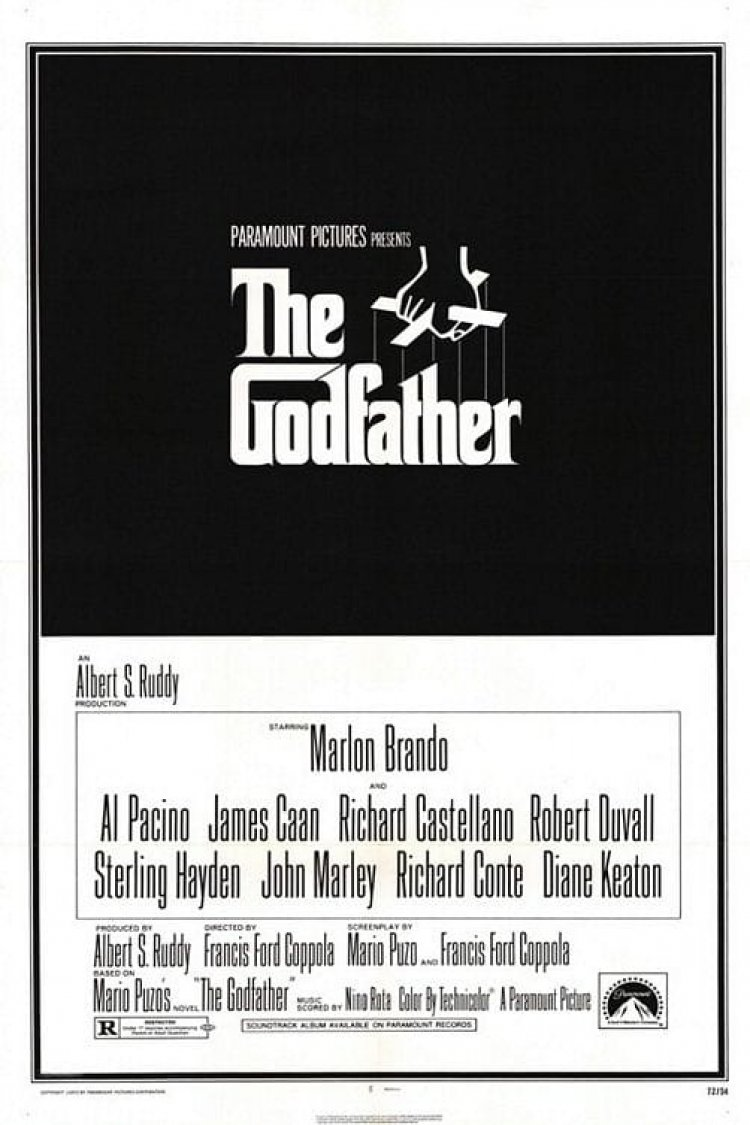 """The Godfather"" movie poster"