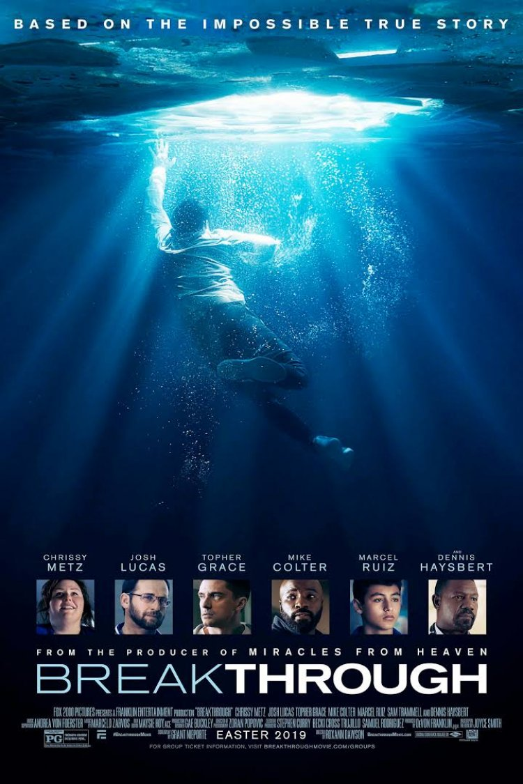 """Breakthrough"" movie poster"