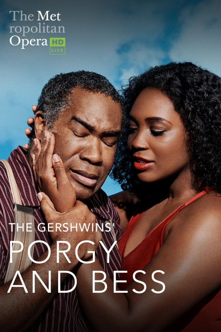 """Met: Porgy And Bess"" movie poster"