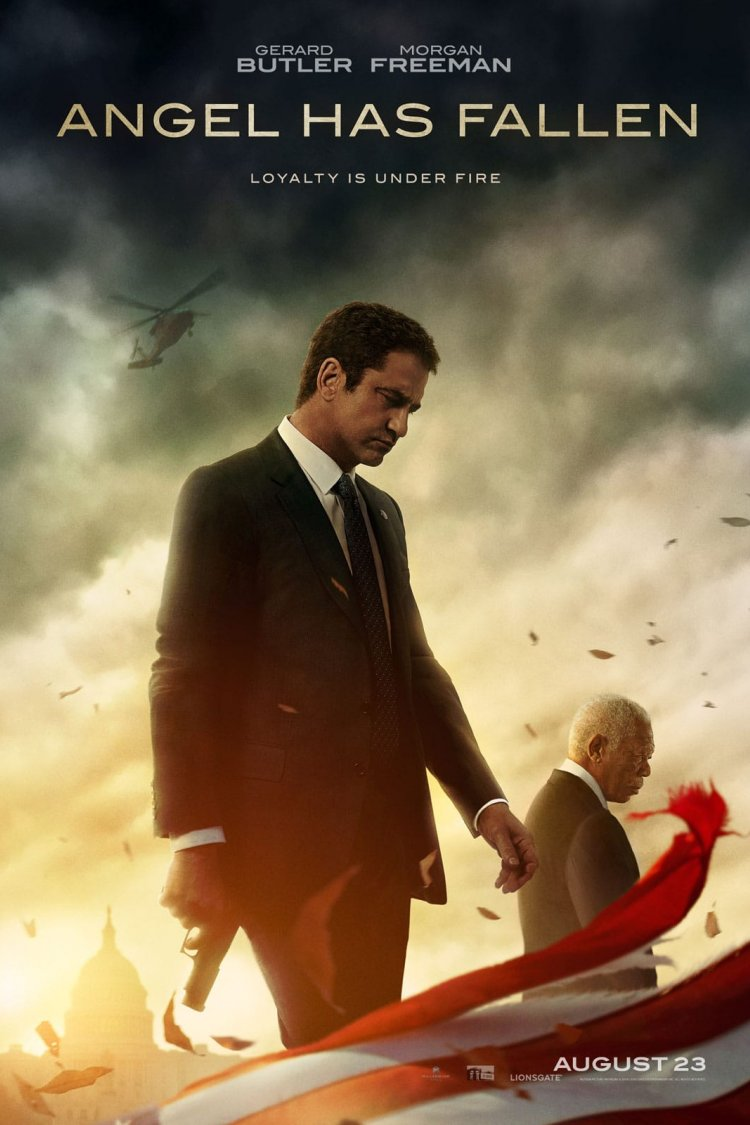 """Angel Has Fallen"" movie poster"
