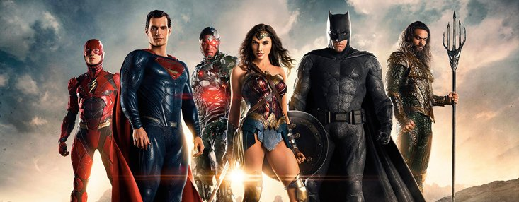 """Justice League: A new first step"" cover photo"