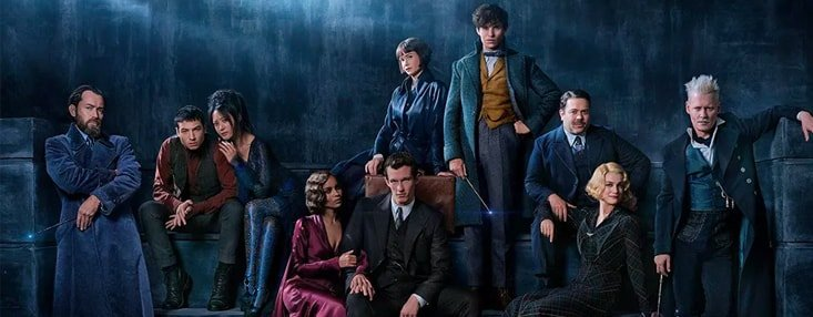 """Fantastic Beasts: The Crimes of Grindelwald - A magical reunion"" cover photo"