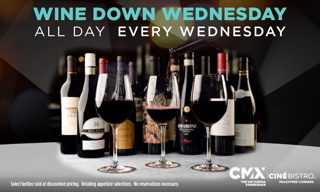 Wine Down Wednesdays @ Peachtree Corners