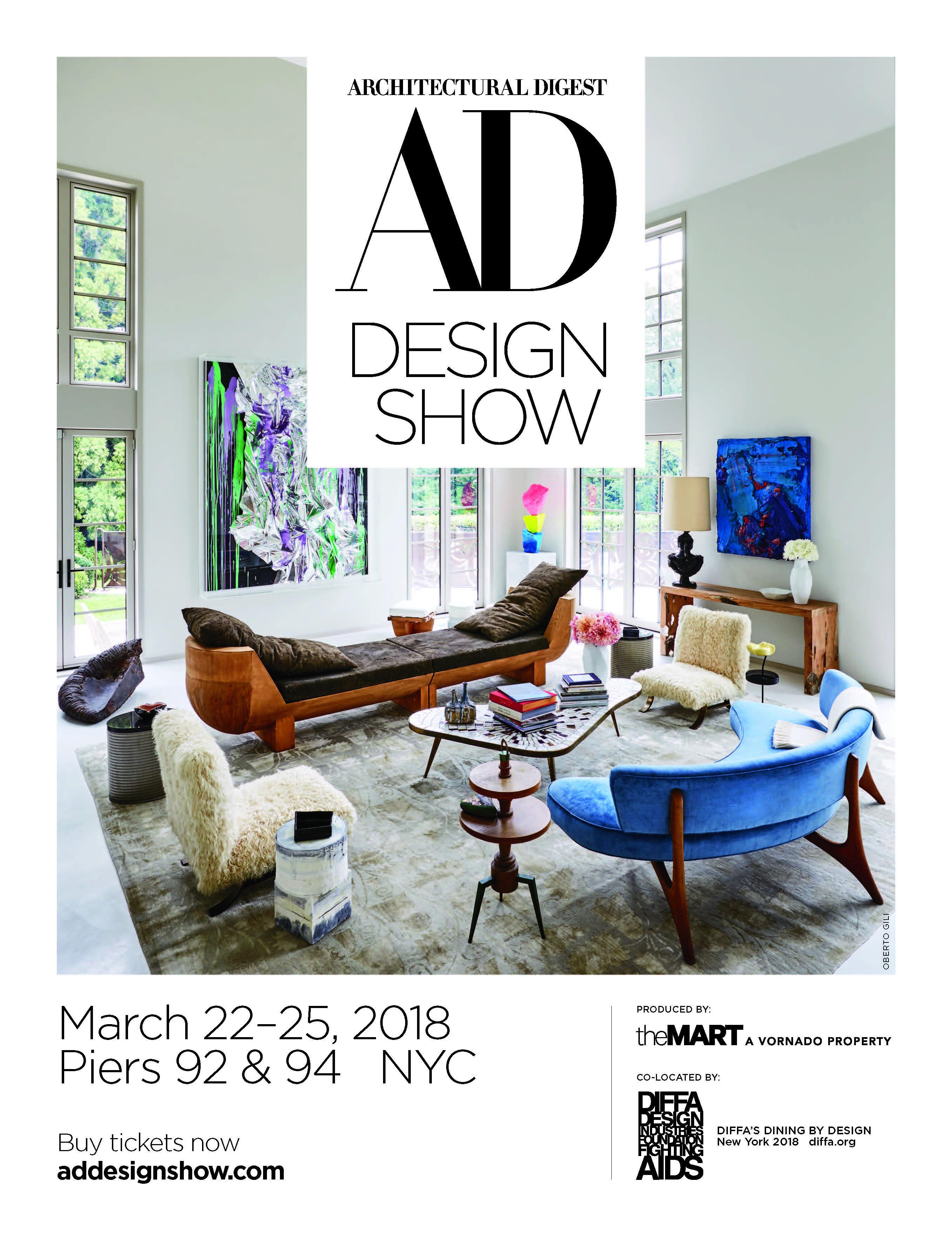 Architectural Digest Interior Design Show