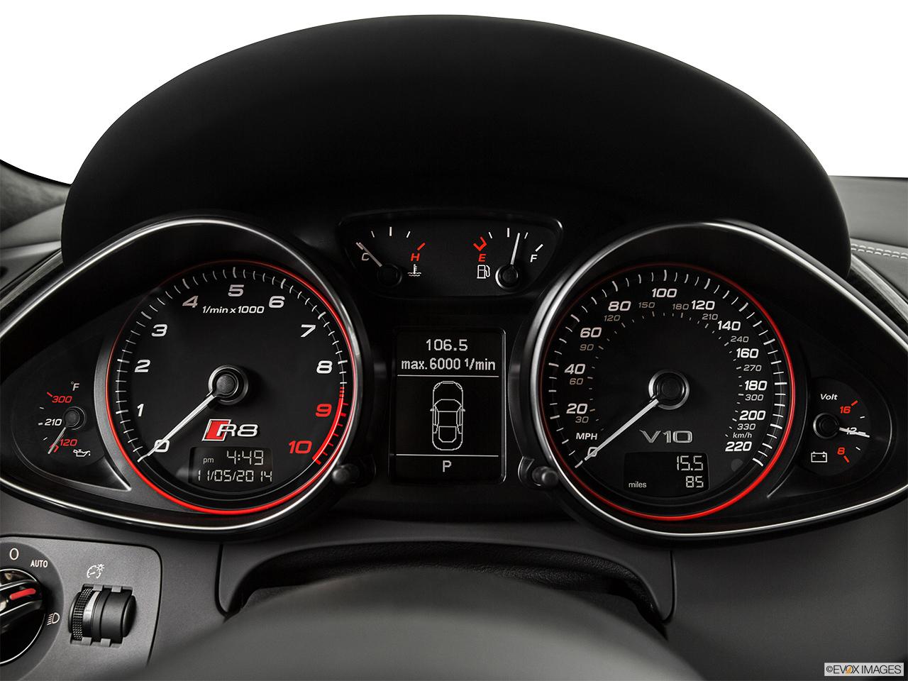 2015 Audi R8 Coupe Manual Quattro V10 Speedometer Tachometer