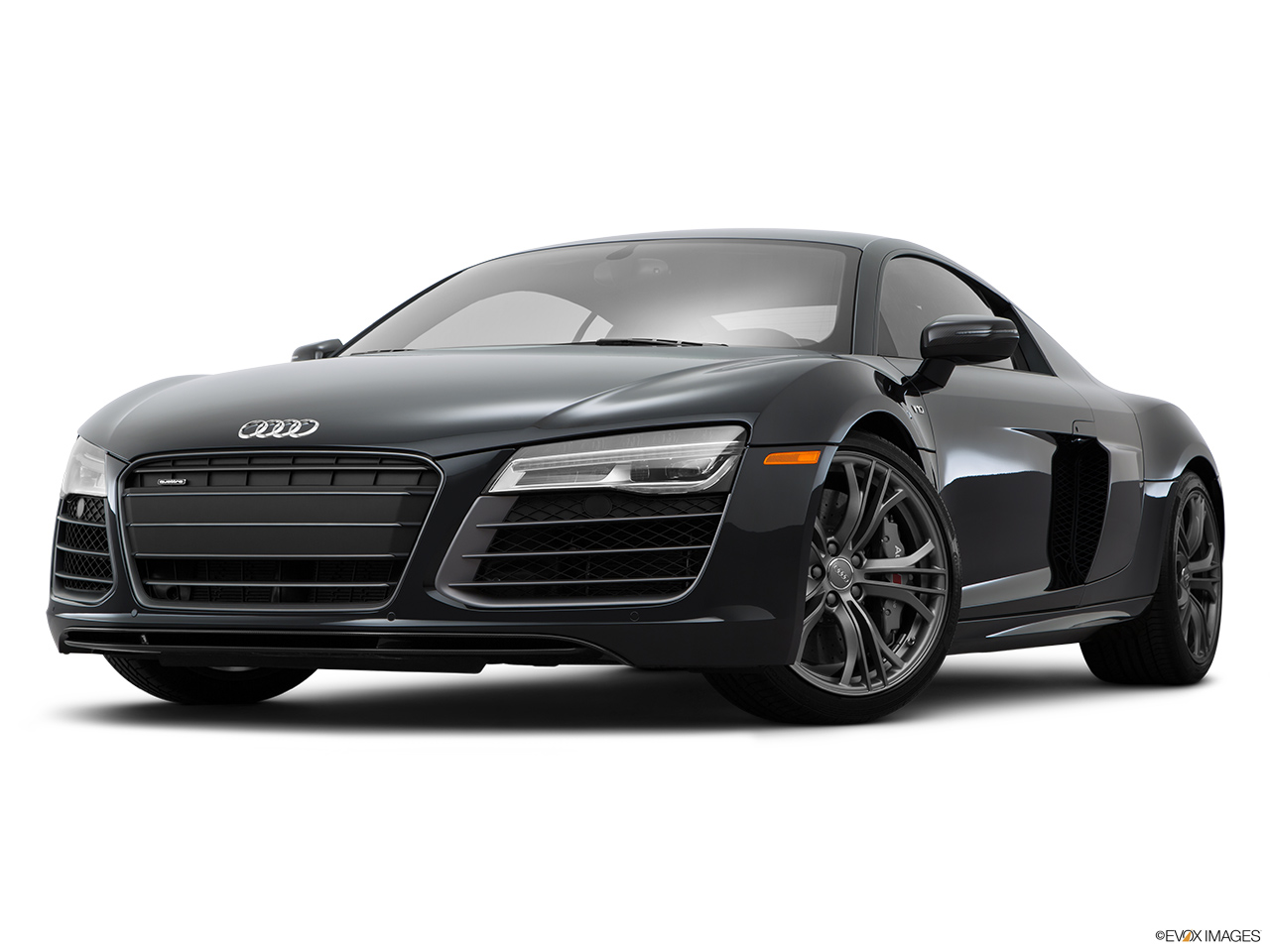2015 Audi R8 Coupe Automatic Quattro V10 Front Angle