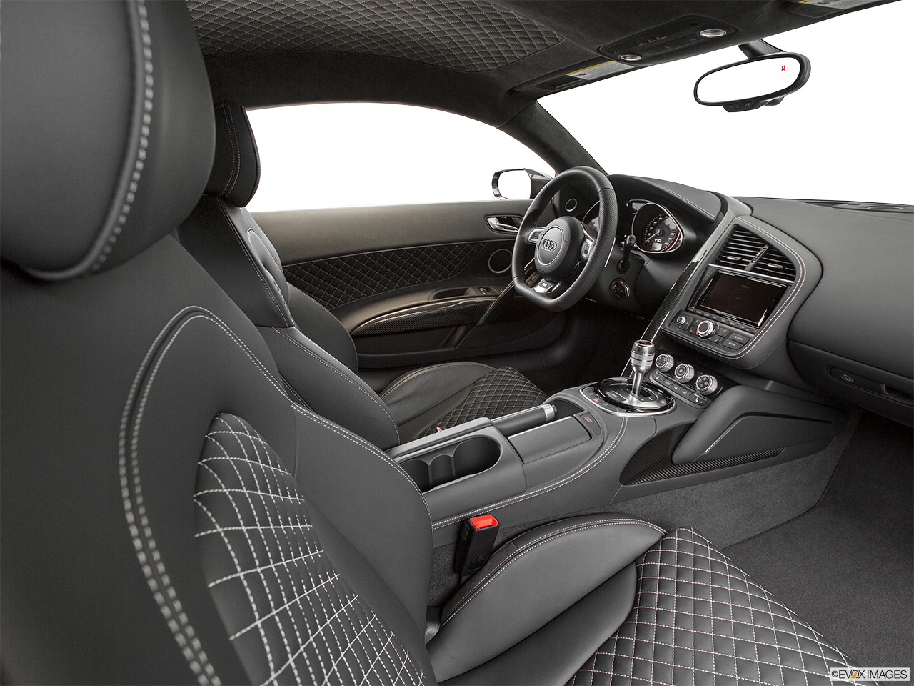 2015 Audi R8 Conv Automatic quattro Spyder V10 - Fake Buck Shot - Interior from Passenger B pillar