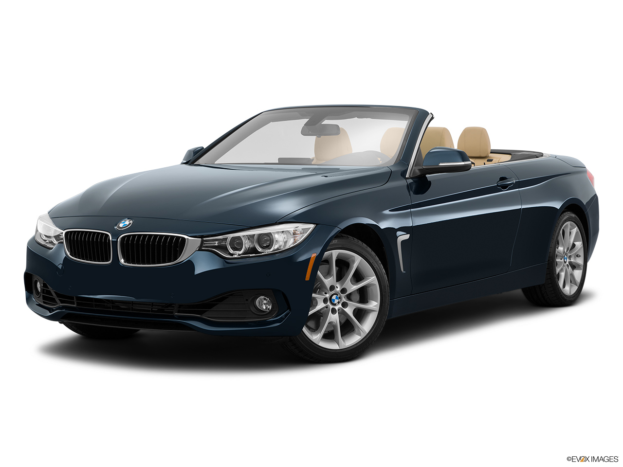 2015 Bmw 4 Series Convertible 428i Xdrive Awd Front