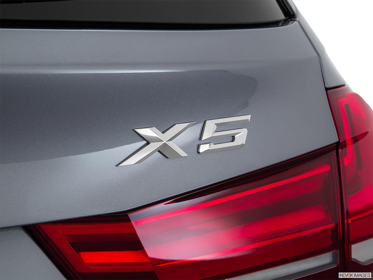 2015 Bmw X5 4 Door Xdrive35i Rear Model Badge Emblem
