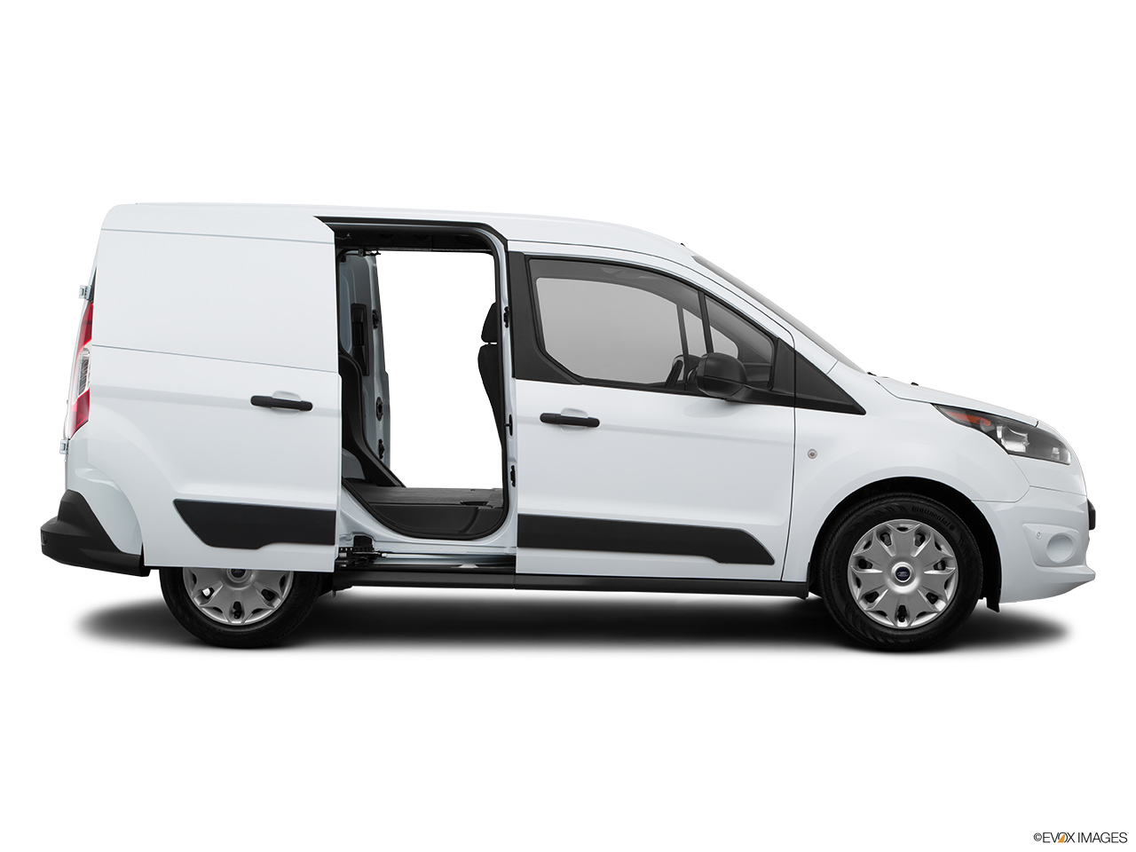 Ford Transit Van >> 2015 Ford Transit Connect SWB XLT - Passenger's side view, sliding door open (vans only)