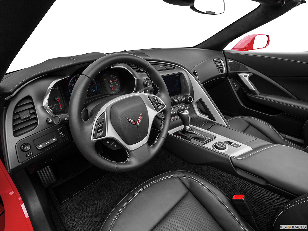 2015 Chevrolet Corvette 2 Door Stingray W/3LT Convertible   Interior Hero  (driveru0027s Side