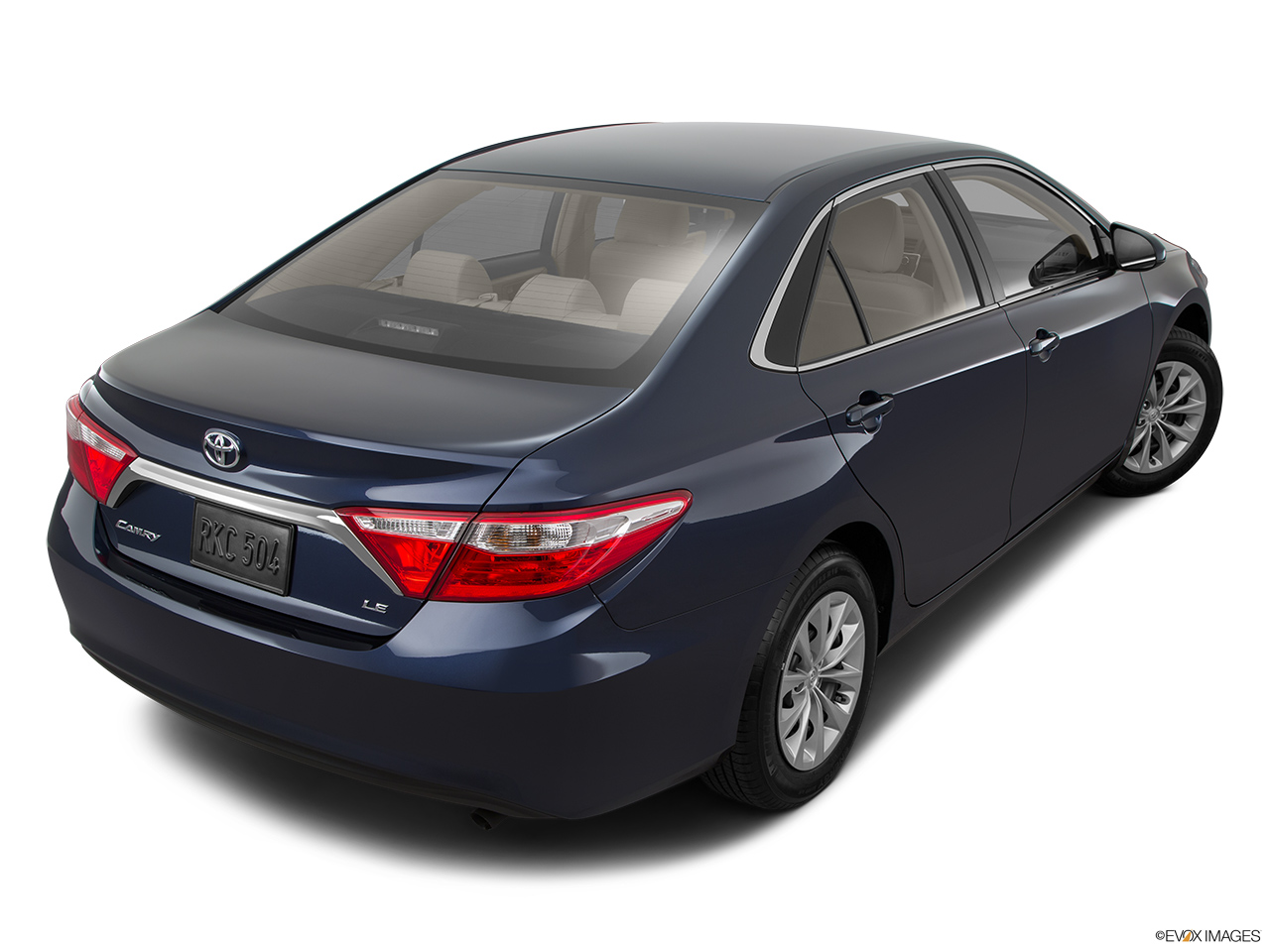 2015 Toyota Camry V6 Auto Xle Natl Sedan Rear 3 4
