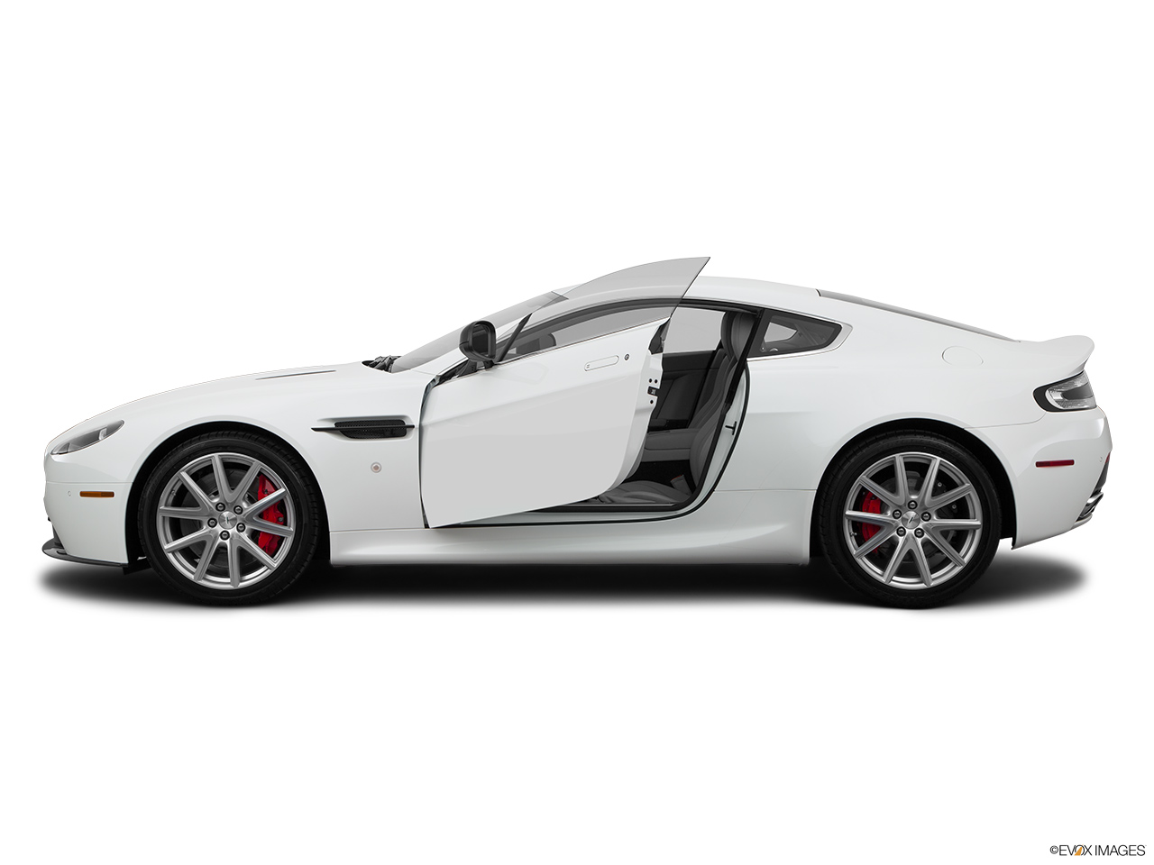 2015 Aston Martin V8 Vantage Coupe - Driver\u0027s side profile with drivers side door open