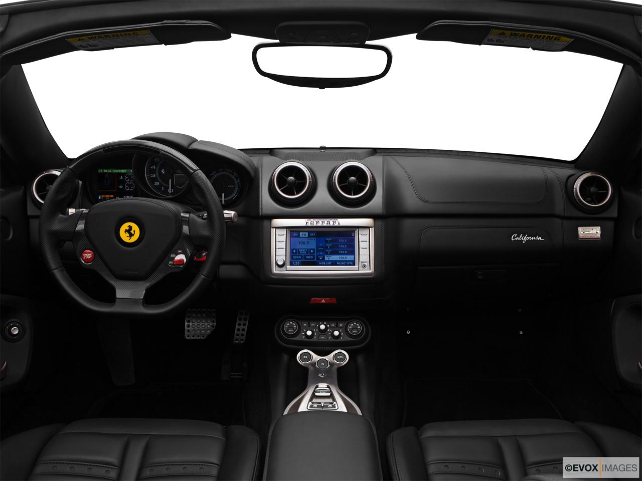 2014 Ferrari California Convertible Front Angle View 2014 Ferrari