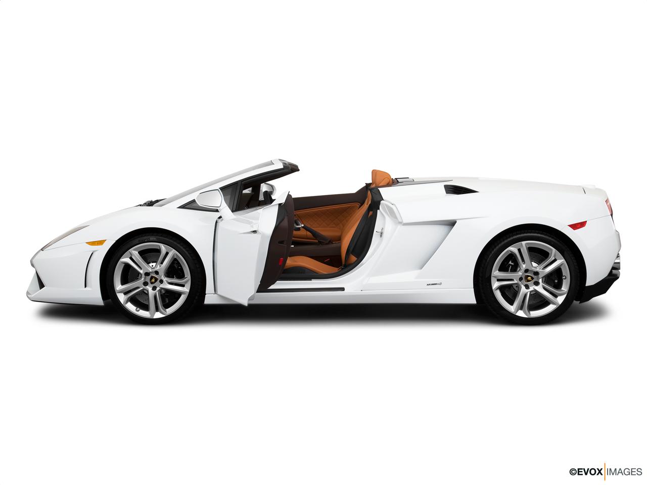 2014 Lamborghini Gallardo Convertible Lp560 4 Spyder Front Angle
