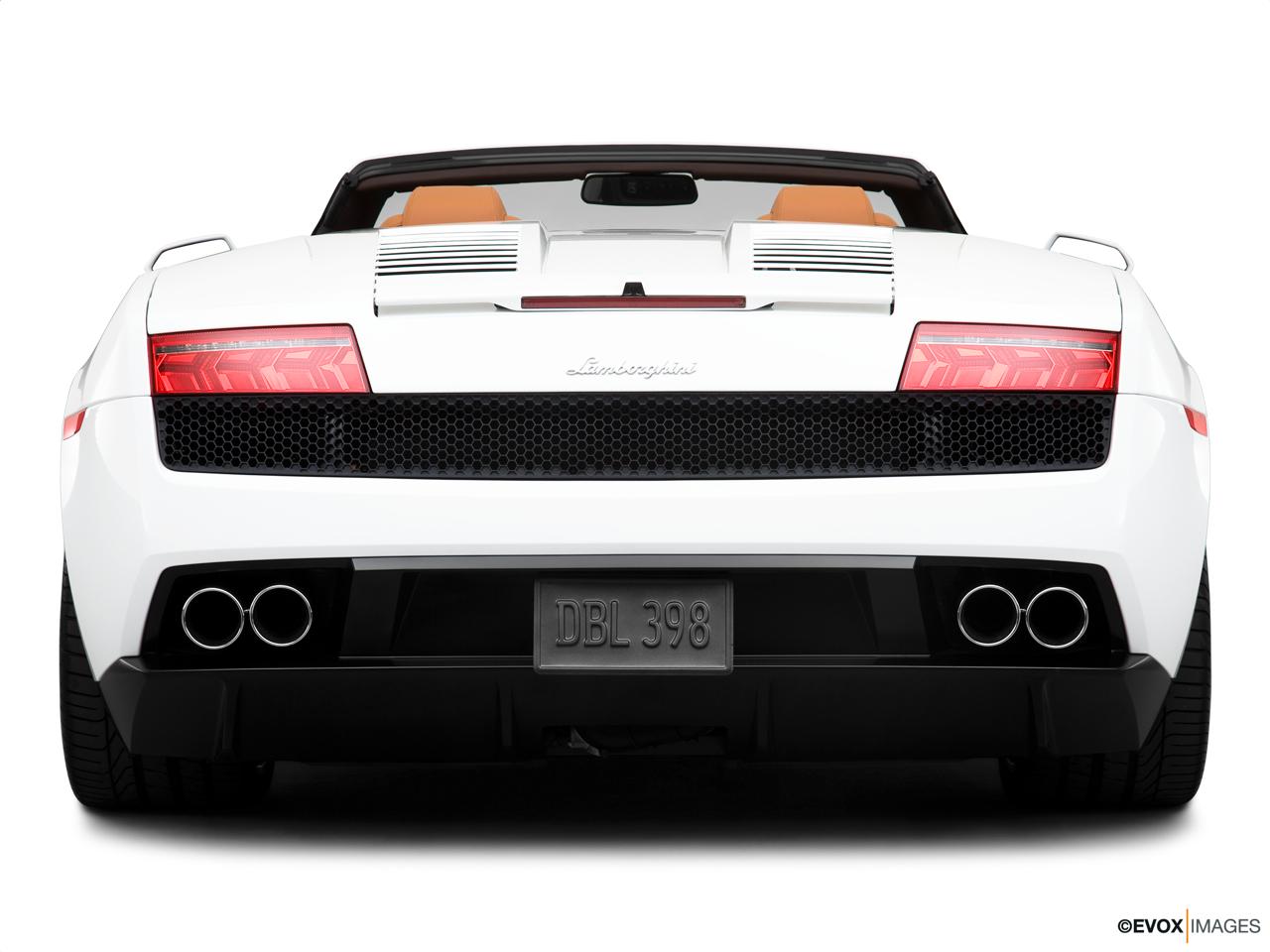 2013 Lamborghini Gallardo Convertible Lp550 2 Front Angle View