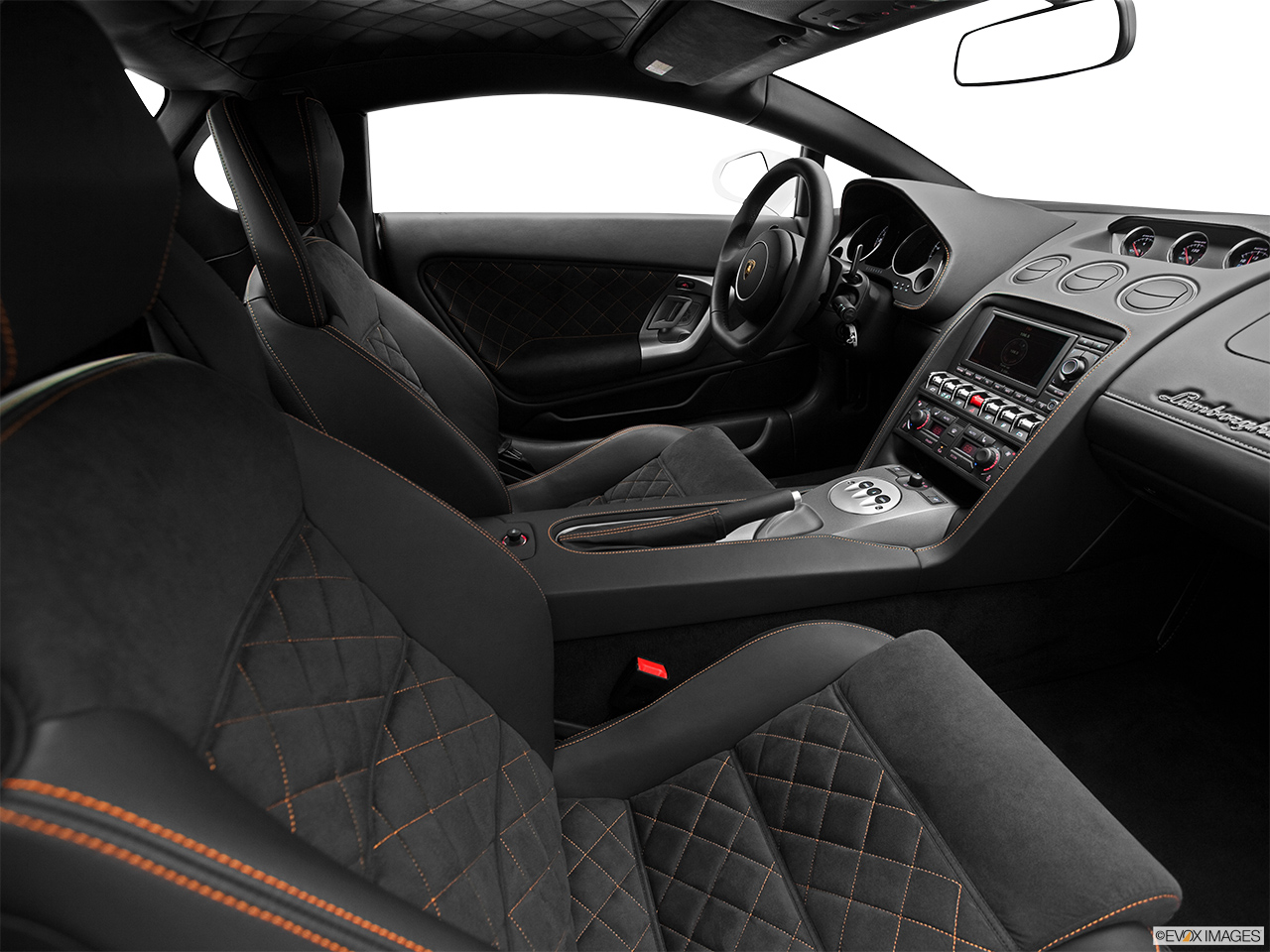 2014 Lamborghini Gallardo Coupe LP560 2 50th Anniversario   Fake Buck Shot    Interior From
