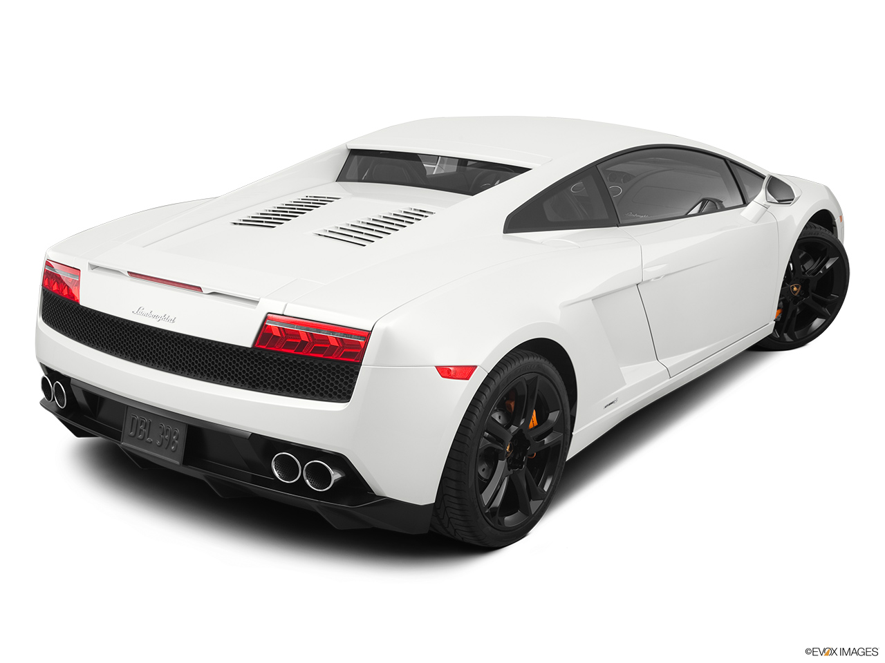 2014 Lamborghini Gallardo Coupe LP560 2 50th Anniversario   Rear 3/4 Angle  View