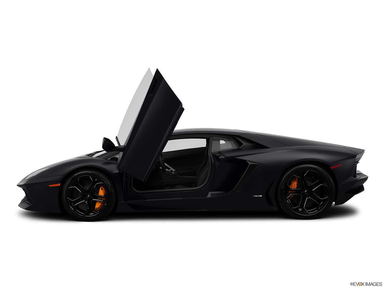 2014 Lamborghini Aventador Coupe Driver S Side Profile With Drivers Side Door Open