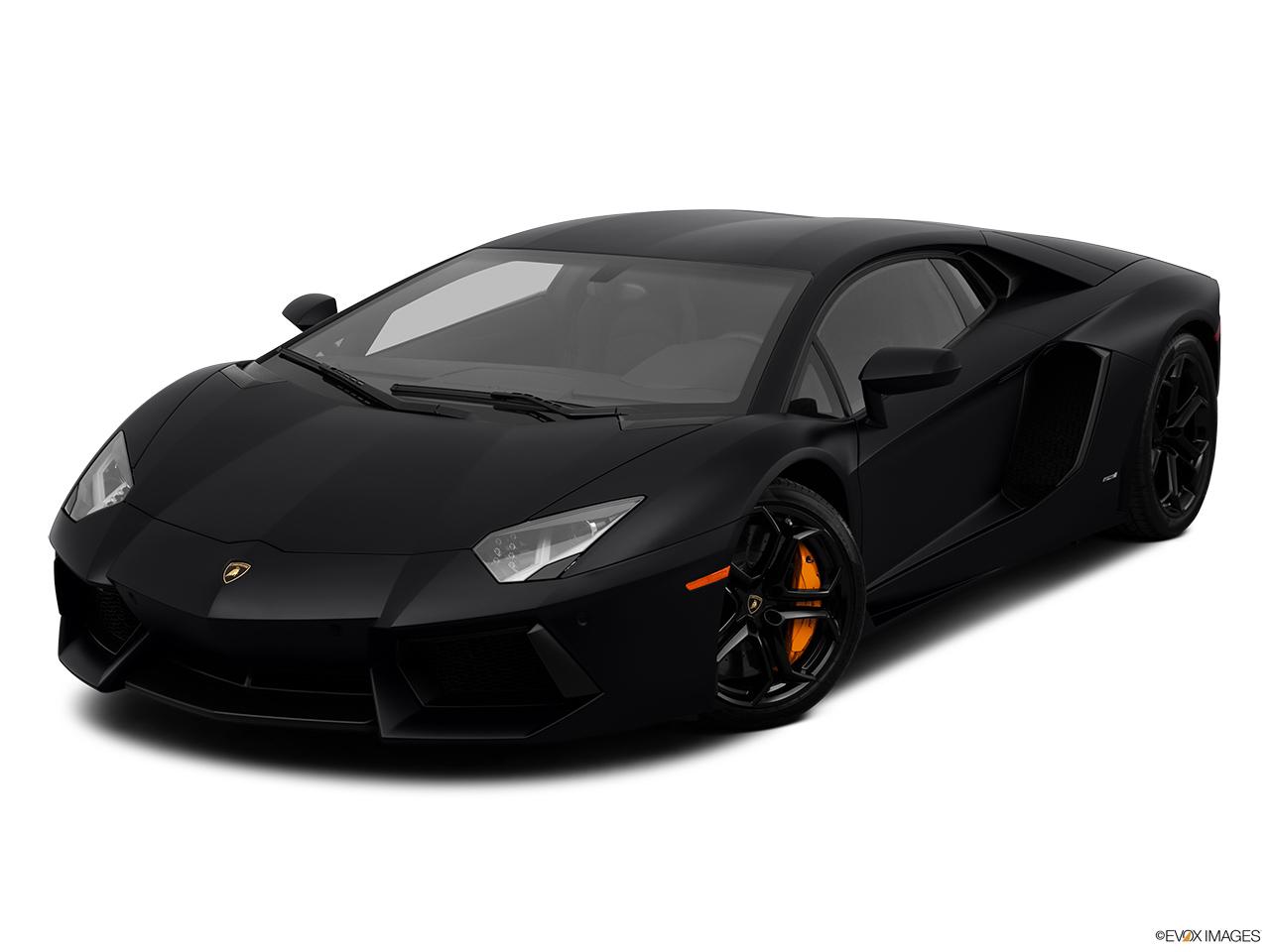 2013 Lamborghini Aventador Coupe - Front angle view