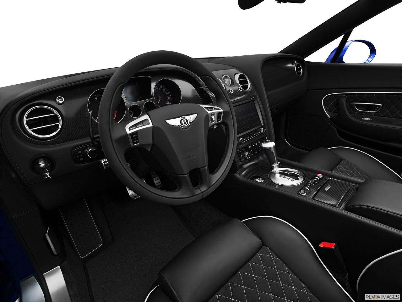 7736st1280163g 2014 bentley continental gt speed convertible interior hero drivers side vanachro Images