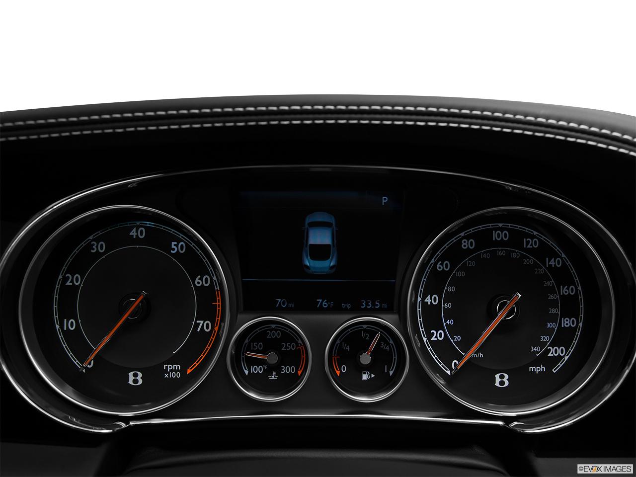 2014 Bentley Continental Gt Coupe Speedometer Tachometer