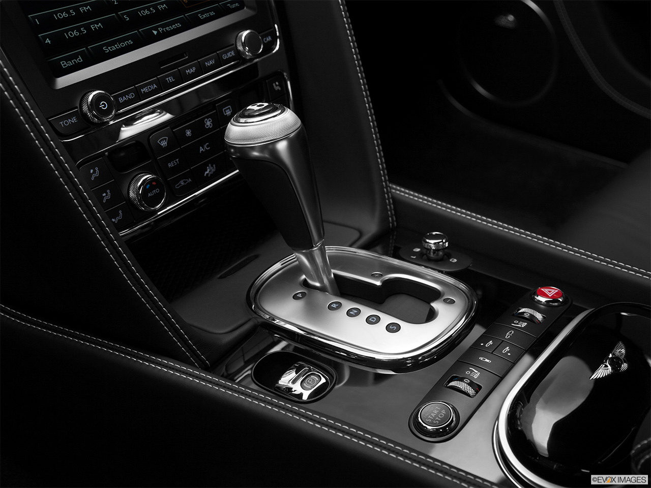 2014 Bentley Continental Gt Coupe Gear Shifter Center