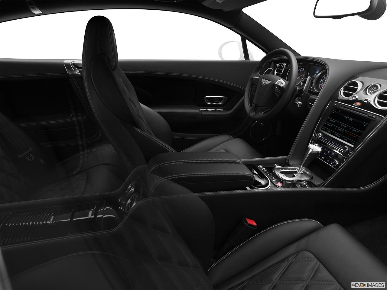 7770st1280160g 2014 bentley continental gt coupe fake buck shot interior from passenger b pillar vanachro Images