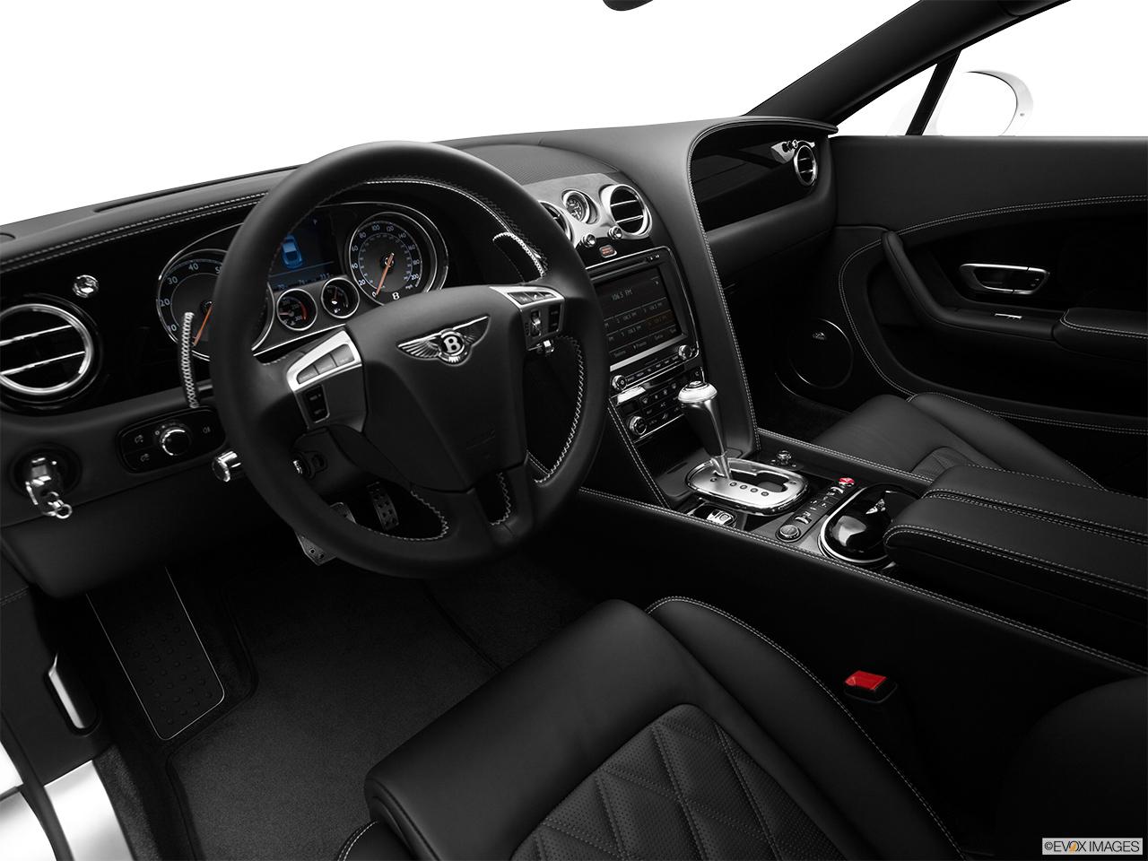 2014 Bentley Continental Gt V8 Coupe Interior Hero