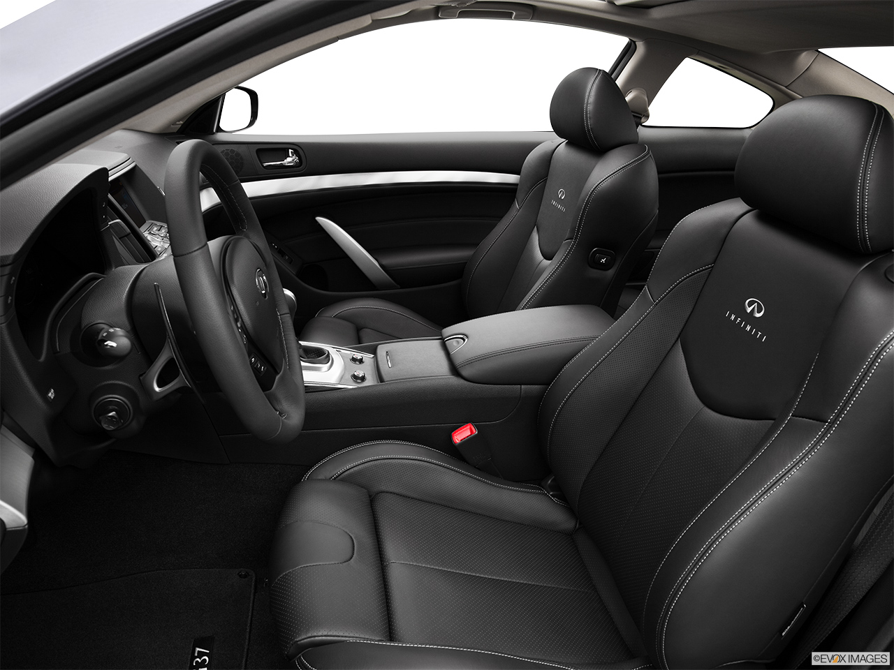 2013 Infiniti G37 Coupe 2 Door Journey RWD   Front Seats From Drivers Side