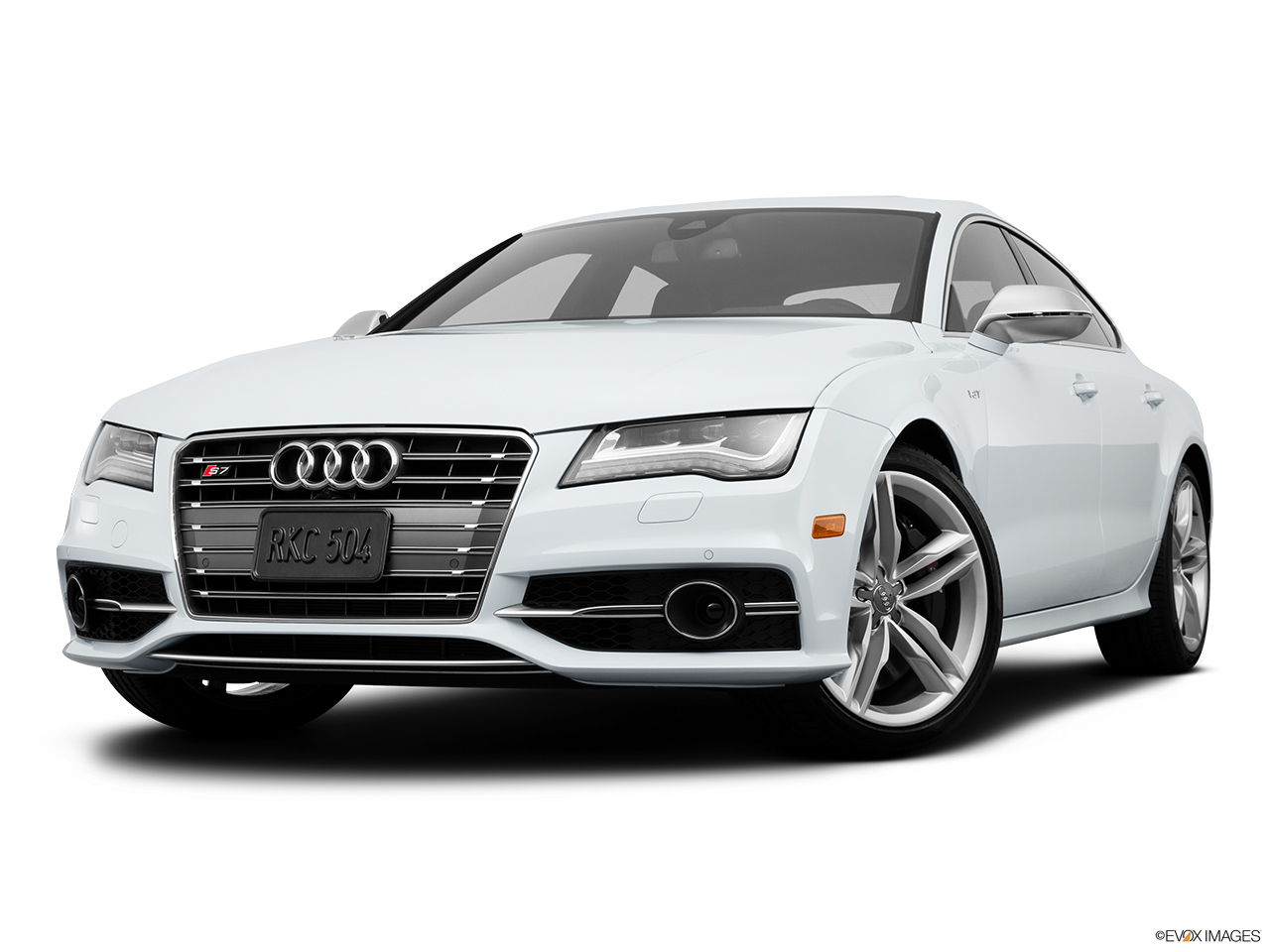 2015 Audi S7 Hatchback Front Angle View Low Wide