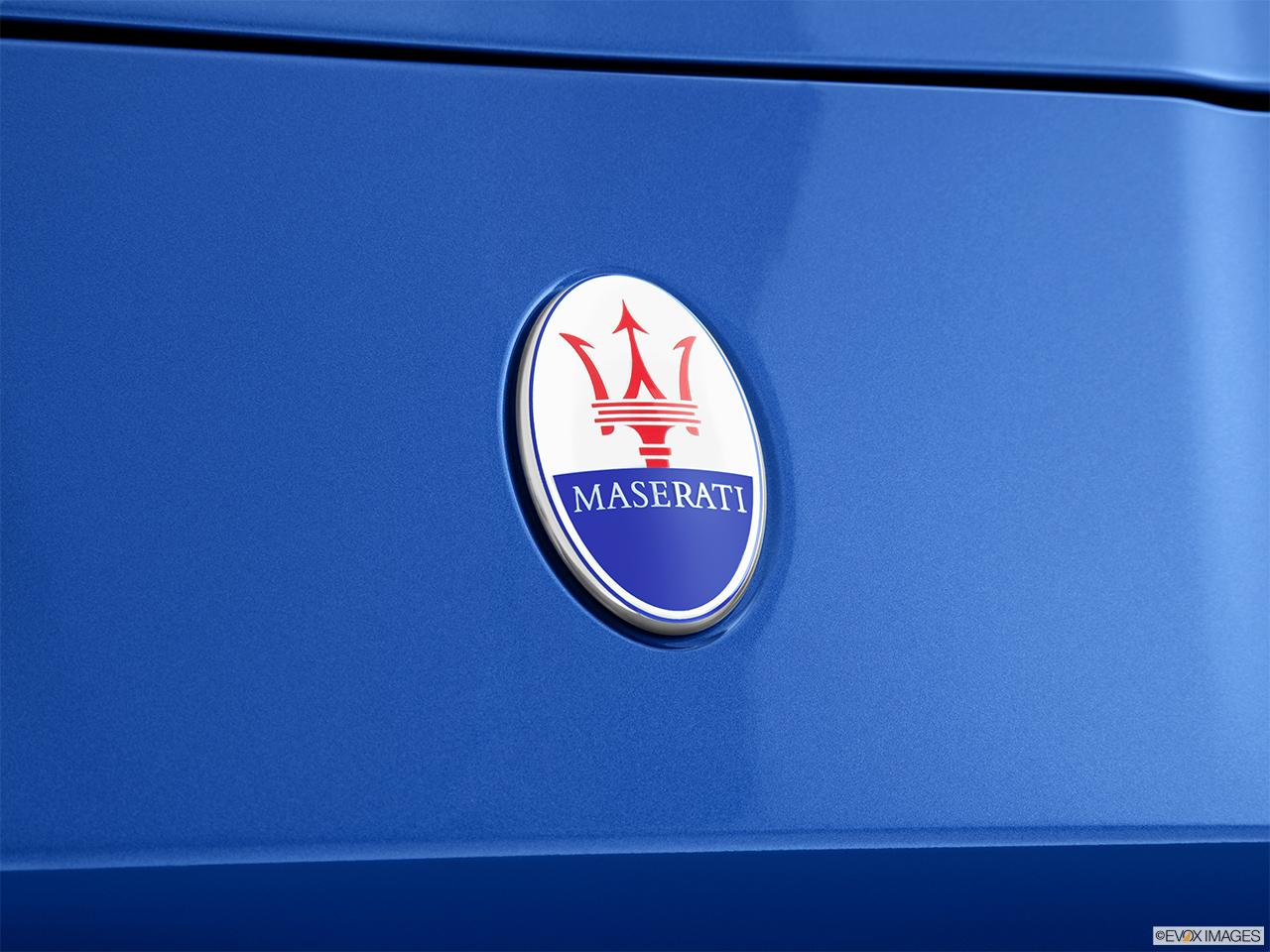 Maserati >> 2015 Maserati GranTurismo GranTurismo MC Centennial Coupe - Rear manufacture badge/emblem