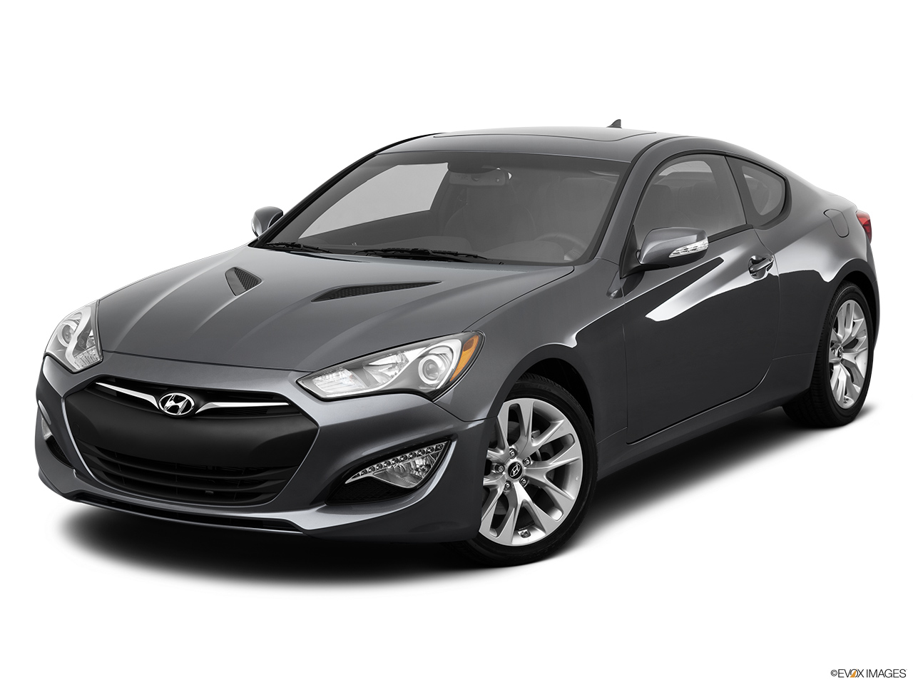 2013 hyundai genesis coupe 2dr v6 3 8l manual r spec front angle view