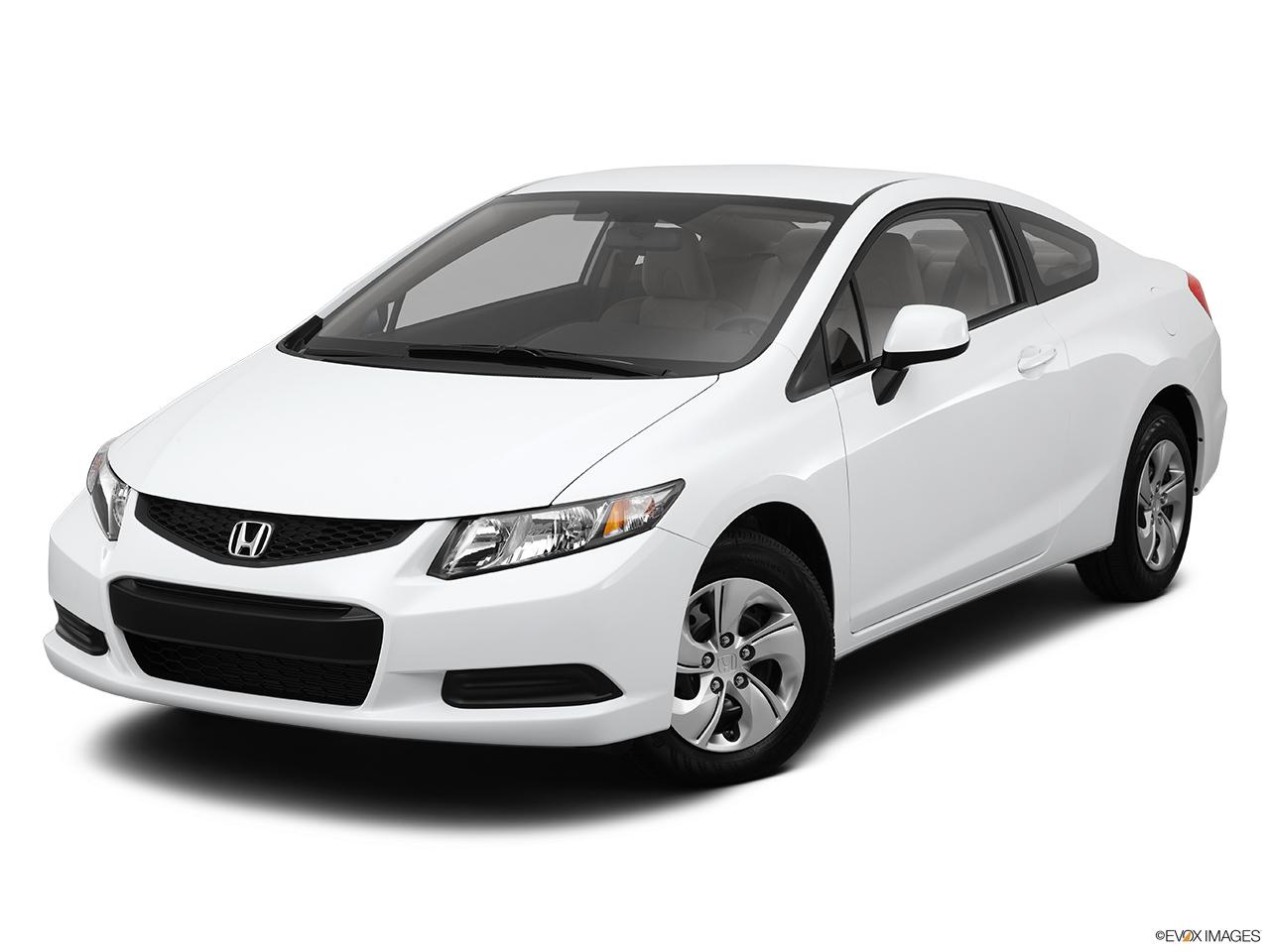 2013 Honda Civic Cpe 2dr Manual LX - Front angle view