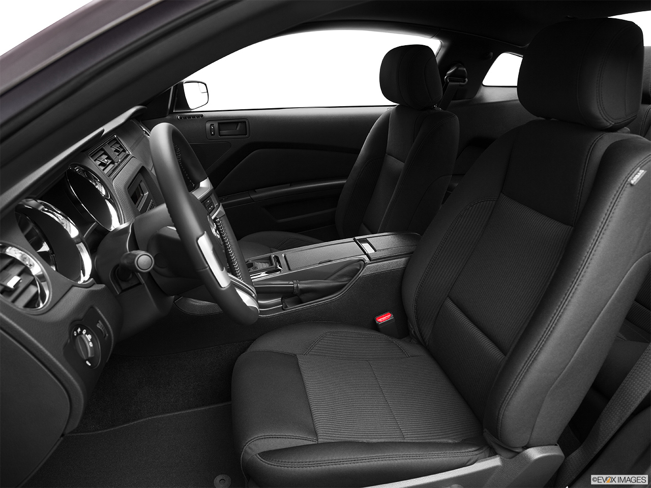 2014 ford mustang coupe v6 front seats from drivers side