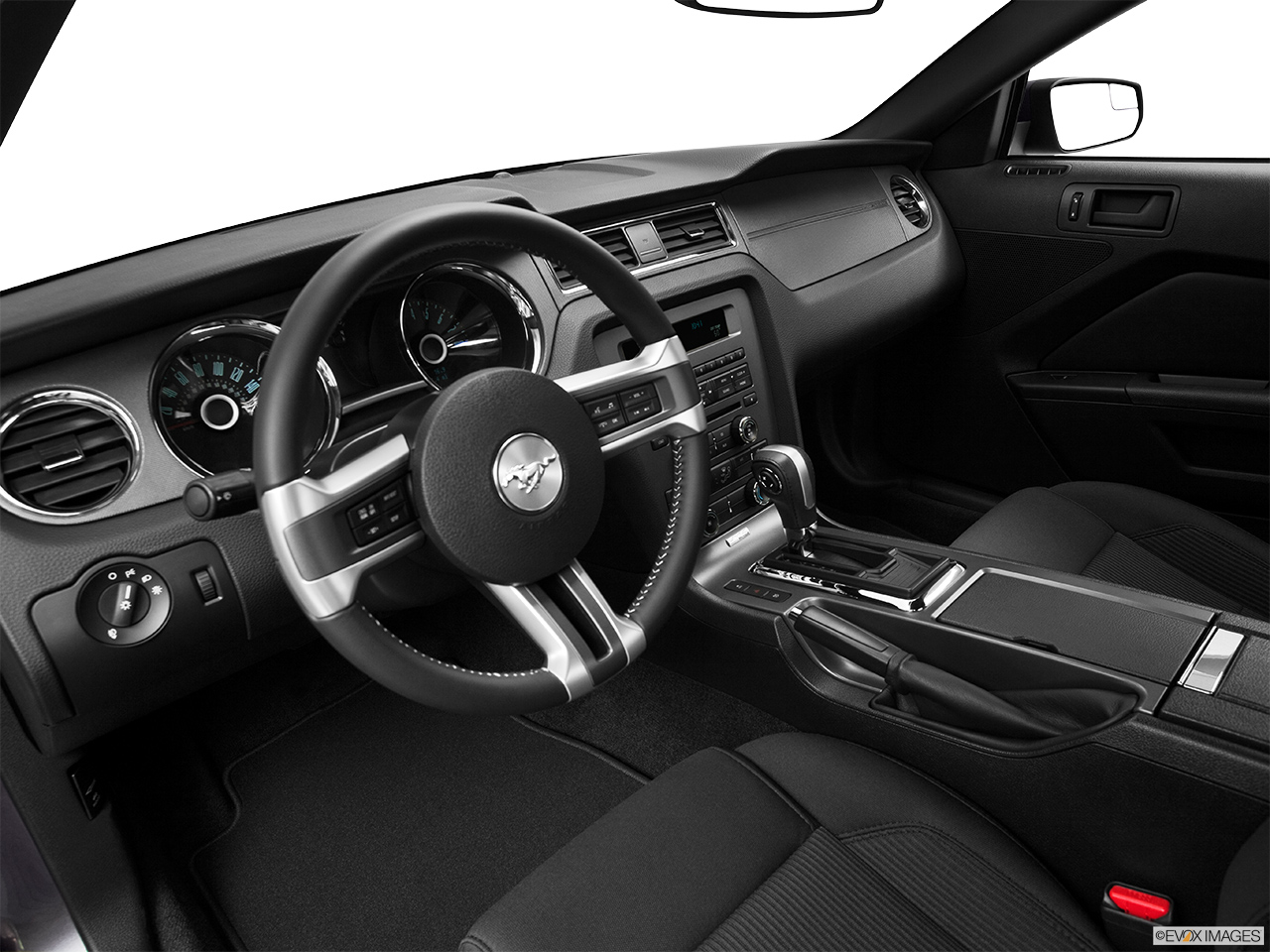 2014 ford mustang coupe v6 interior hero drivers side