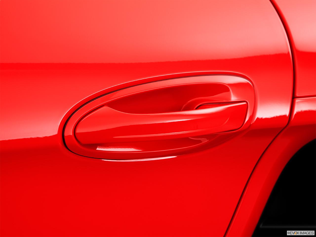 2015 Porsche Cayman Coupe Drivers Side Door Handle